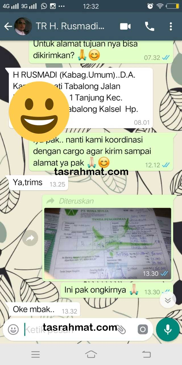 Tas Seminar Kalimantan Tasrahmat.com